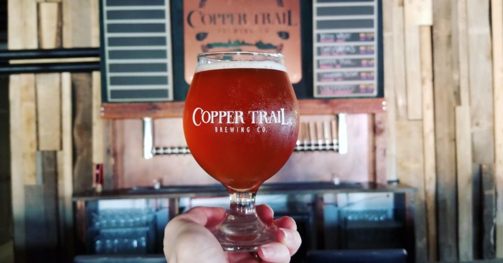 Purposeful Pint for The Written Gift at Copper Trail Brewing Co.